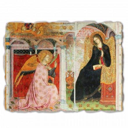 Großes Fresko Ilario da Viterbo Verkündigung Mariens