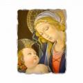 Reproduktion Botticelli Madonna mit dem Buch