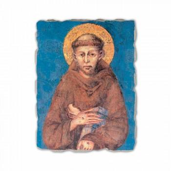 "Fresko Reproduktion Cimabue ""San Francesco"" XIII Jahrhundert"