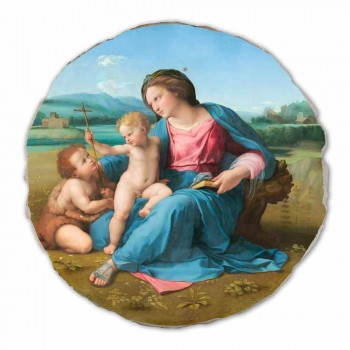 "Fresko Reproduktion Raffaello Sanzio ""Alba Madonna"", 1510"