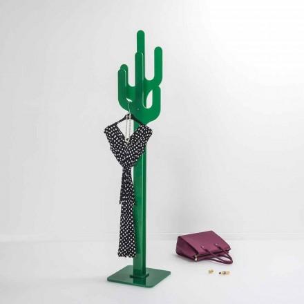 Grünes Garderobenständer des modernen Entwurfs des Kaktus, hergestellt in Italien