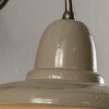 Artisan Außenwandleuchte in Galestro Made in Italy - Toscot Spoleto
