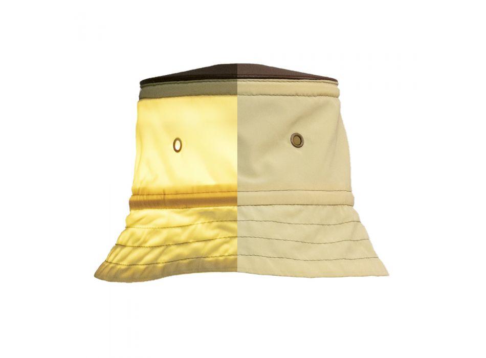 Außenwandleuchte mit Polyester-Lampenschirm Made in Italy - Toscot Junction