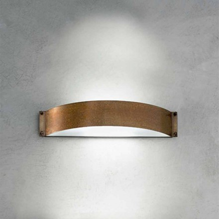 Wandlampe weiß Fashion mittel Aldo Bernardi