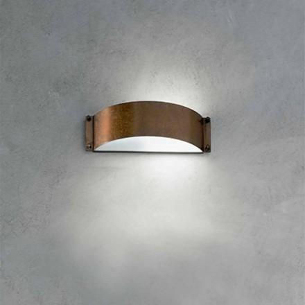 Wandlampe weiß Fashion klein Aldo Bernardi