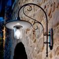 Wandlampe aus Kupfer, Messing, Glas und Aluminium Otello