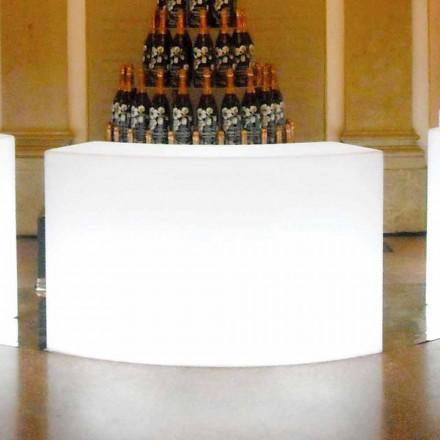 Modulare helle Gartenbar Theke Snack Snack Bar, hergestellt in Italien