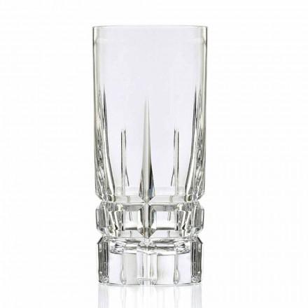 Highball Cocktail Glasbecher High 12 Stück in Eco Crystal - Fiucco