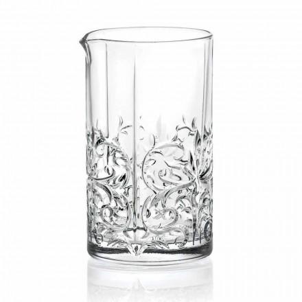 Glas mischen mit exzentrischer Dekoration Luxus Design 4 Stück - Destino