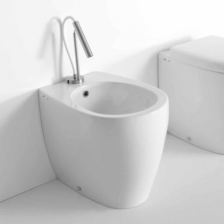Bidet aus farbiger Keramik in modernem Design Made in Italy - Lauretta