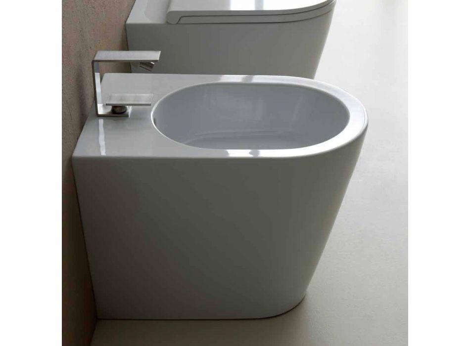 Modernes Design-Keramik-Bidet 57x37cm Sun, made in Italy