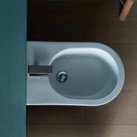 Bidet aus Keramik 57x37 modernes Design Sun, made in Italy