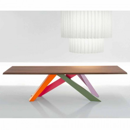 Bonaldo Big Table Tisch aus amerikanischem massiven Nussholz made Italy