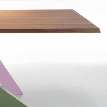 Bonaldo Big Table Massivholztisch aus amerikanischer Walnuss, hergestellt in Italien