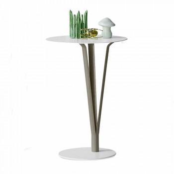 Bonaldo Kadou Design Tisch aus lackiertem Stahl D39cm made in Italy