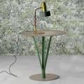 Bonaldo Kadou Tischchen aus lackiertem Stahl D50cm,Design made Italy