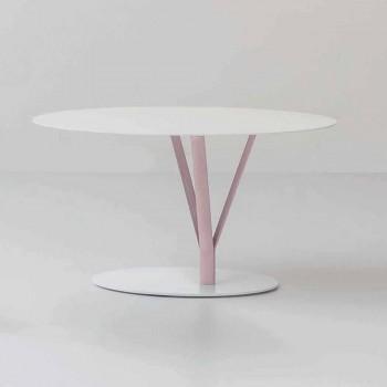 Bonaldo Kadou Design Tisch aus lackiertem Stahl D70cm made in Italy