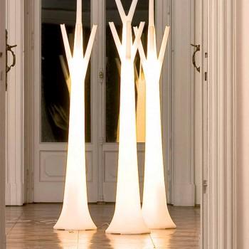 Bonaldo Tree Kleiderbügel mit Leuchte aus Polyethylen hergestellt in Italien