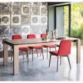 Calligaris Sigma moderner Tisch ausziehbar bis 220 cm in Keramik