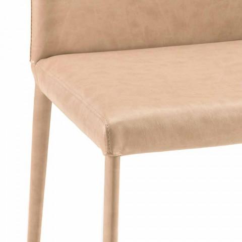 Esszimmerstuhl im modernen Design von Carly, hergestellt in Italien