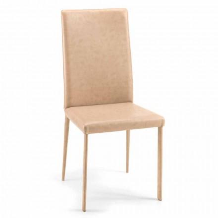 Carly, spezieller Esszimmerstuhl, modernes Design, made in Italy