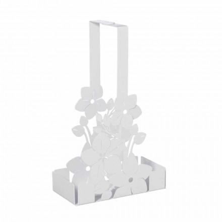 Modernes Design Floral Eisen Cup Holder Korb Made in Italy - Marken