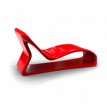 Chaise Longue in modernem Design Kobra Made in Italy