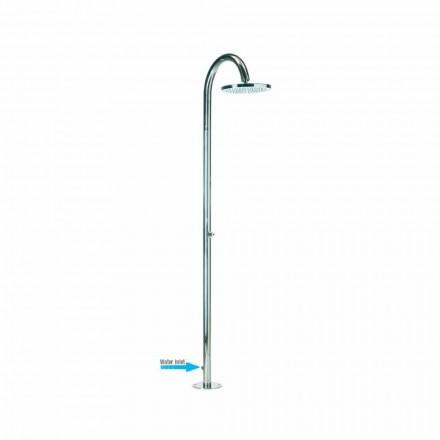 Duschsäule Bossini Oki in modernem Design mit seitlichem Wasserzulauf