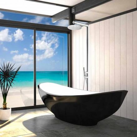 Duschsäule für den Außenbereich mit Bodenanschluss Bossini Nek Floor