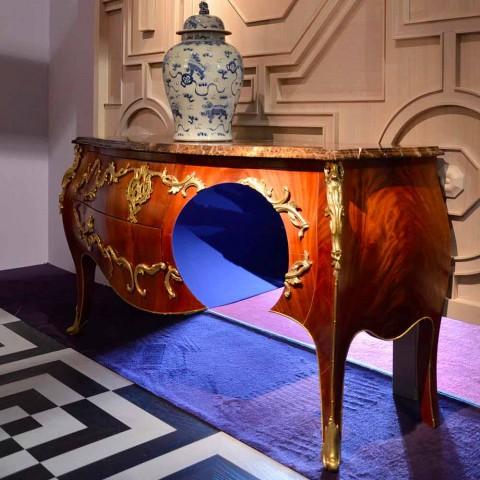 Marmor Kommode und Dekorationen im Design, hergestellt in Italien, Gildo
