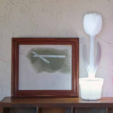 Komposition 4 Modern Design Led Tischlampen - Tulpe von Myyour
