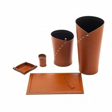 Büroaccessoires Made in Italy Schirmständer, Papierkorb, Schreibtischunterlage - Giulio