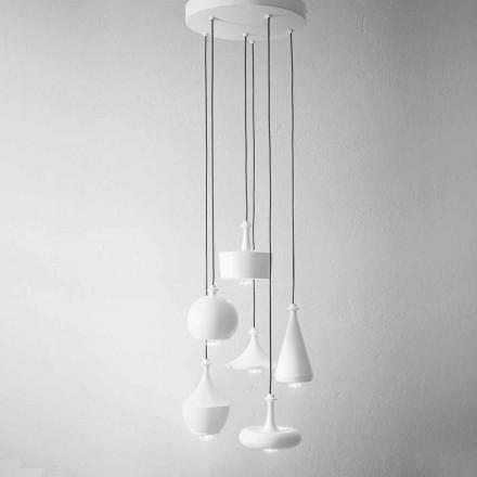 Komposition Hängelampe Design - Lustrini Aldo Bernardi