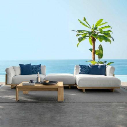 Komposition Garten Wohnzimmer Möbel Sofa und Couchtisch - Argo von Talenti