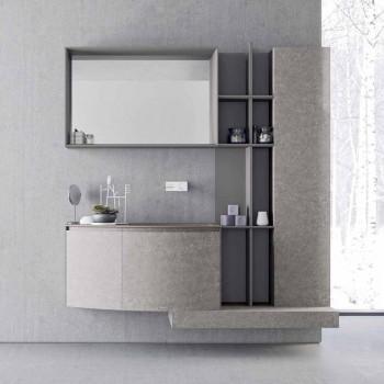 Badezimmerzusammensetzung, moderne italienische Designfederung - Callisi10