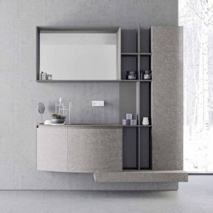 Badezimmerzusammensetzung, moderne italienische Designaufhängung - Callisi10