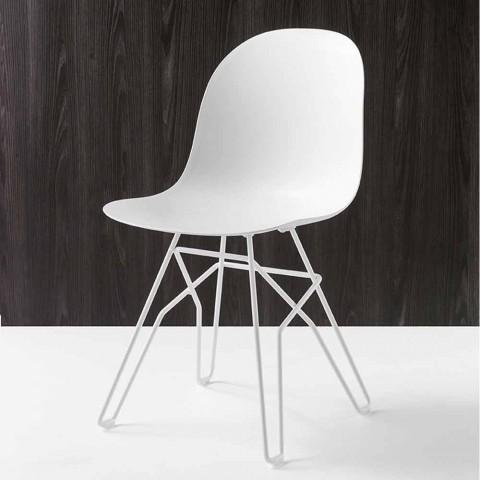 Connubia Moderner Design Italien2 Calligaris Academy Stuhl Aus Stück SMVUqpz