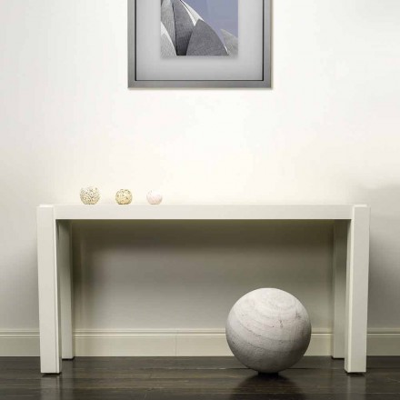 Modernes Design Konsole aus lackiertem Holz 150x78x40 cm Felicity
