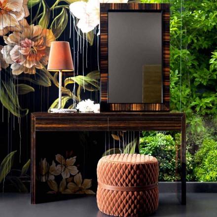 Moderner Konsolentisch aus Ebenholz Grilli Zarafa made in Italy