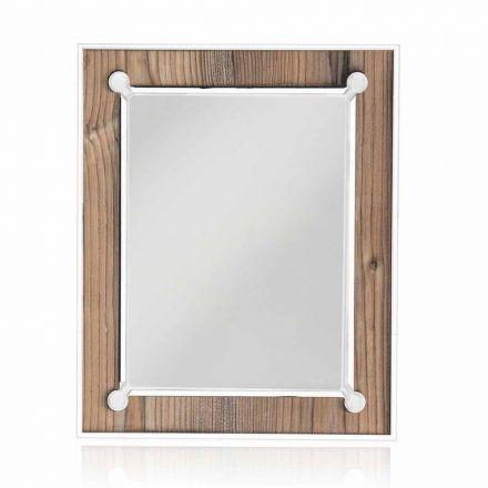 Tisch Fotorahmen aus farbigem Plexiglas oder mit Holz 2 Stück - Eingangshalle