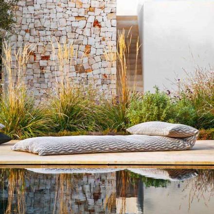 Design Outdoor Daybed, Pouf Einzelbett 2 Farben Made in Italy - Emanuela