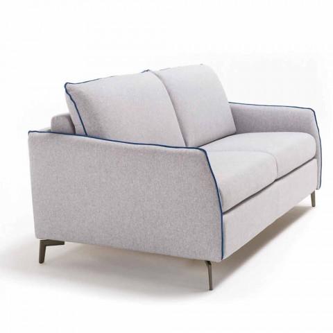 Brilliant Dreisitzer Sofa Design L 185Cm Stoff Kunstleder Made In Italy Erica Alphanode Cool Chair Designs And Ideas Alphanodeonline