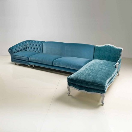 Ecksofa, klassisches luxury Design, made in Italy, Narciso
