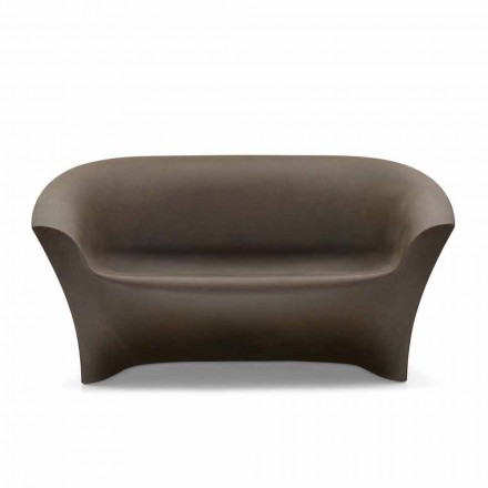 Outdoor Design Sofa aus farbigem Polyethylen Made in Italy - Conda