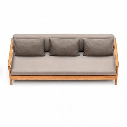 Modernes Outdoor-Sofa mit Kissen gepolstert Varaschin Bali