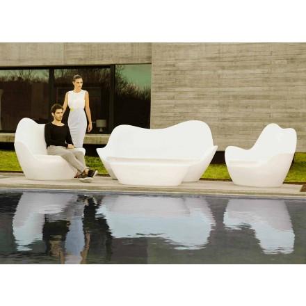 Modernes Gartensofa aus Polyethylen Sabinas von Vondom