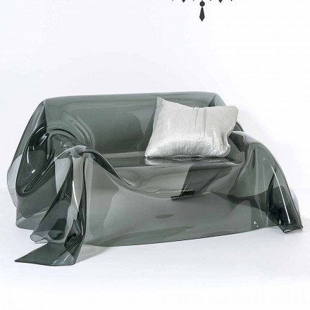 Lustiges modernes Design Sofa aus Plexiglas, hergestellt in Italien