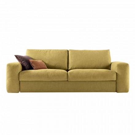 3-Sitzer Design Sofa aus Stoff Grilli George in Italien hergestellt