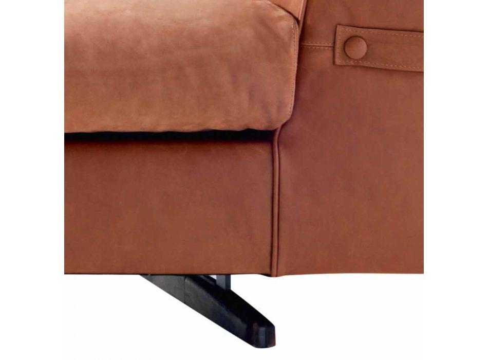 3-Sitzer gepolstertes Stoffsofa Grilli Joe made in Italy