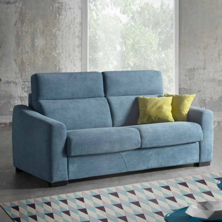 Modernes gepolstertes Schlafsofa aus farbiger Stoff Ginger made in Italy